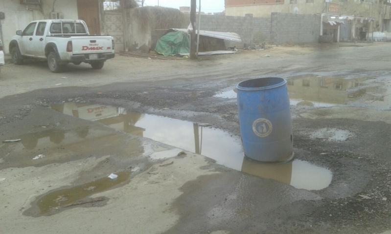 مياه الصرف في روضة جازان