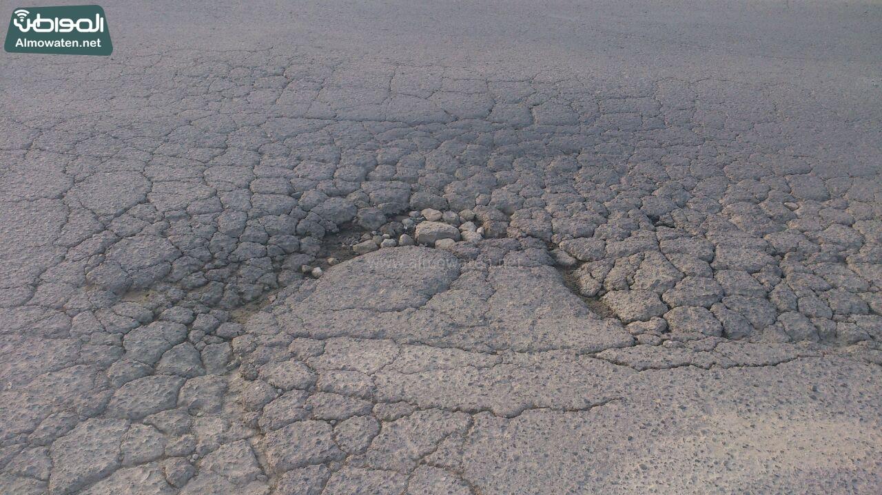 حفريات طريق حيوي النماص  (1)
