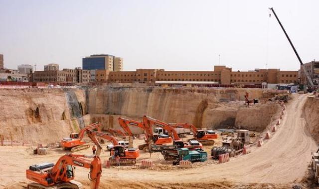 بالفيديو والصور.. إنجاز 60% من أعمال الحفر في محطة قصر الحكم بمترو الرياض - المواطن