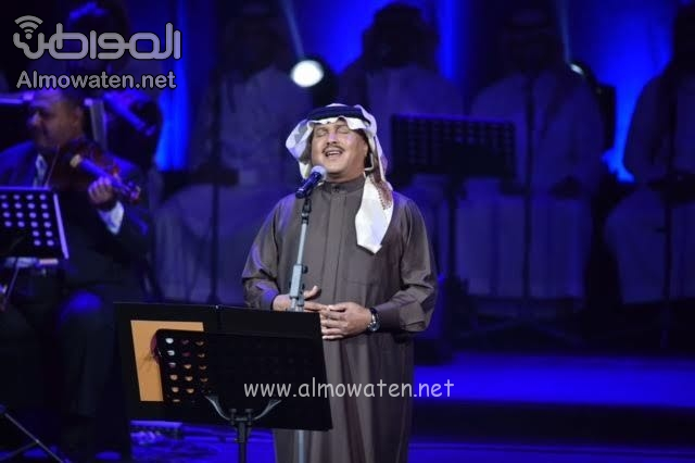 """بالصور .. """"المواطن"""" توثق الليلة الطربية لفنان العرب محمد عبده"""