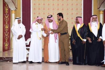 حفل تكريم الدكتور محمد بن أحمد قشيش بمناسبة حصوله على الدكتوراه من جامعة يوتا بالولايات المتحدة الإمريكية6