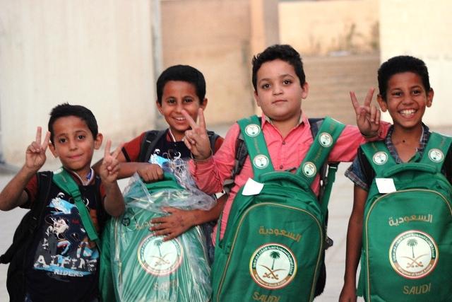 حقائب أطفا سوريا (1)