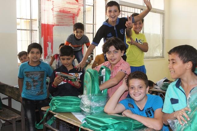حقائب أطفا سوريا (3)