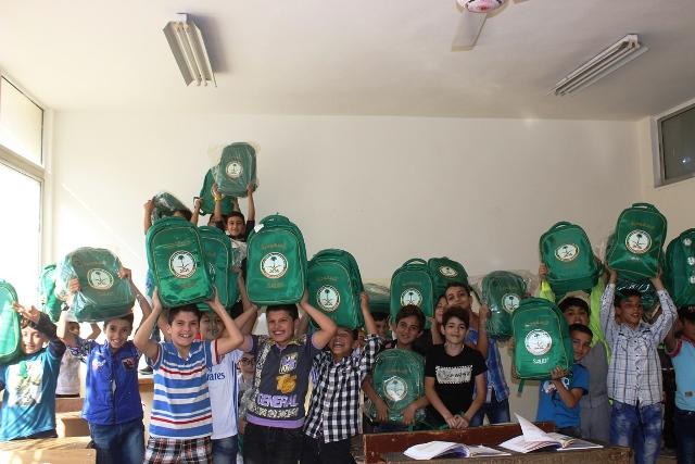 حقائب أطفا سوريا (4)