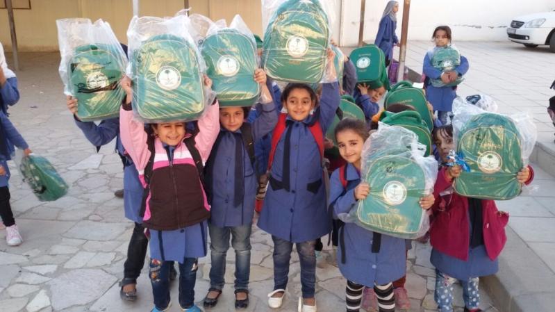 حقائب اطفال سوريا (2)