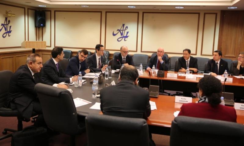 بالصور.. موسكو تناقش التحديات الأمنية في الخليج والحل السياسي في اليمن