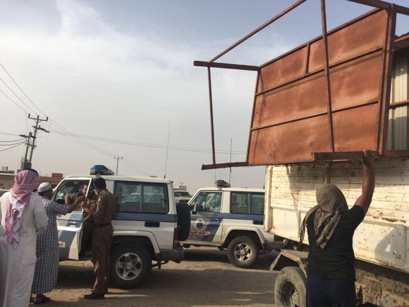 حملات بلدية الطوال ازالة بسطات ومصادرة  (105301205) 