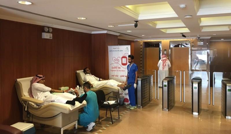 حملة التبرع بالدم بمستشفى الامام عبدالرحمن الفيصل (3)