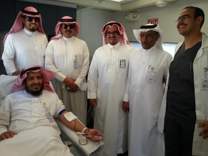 حملة التبرع بالدم بمستشفى الخميس 3