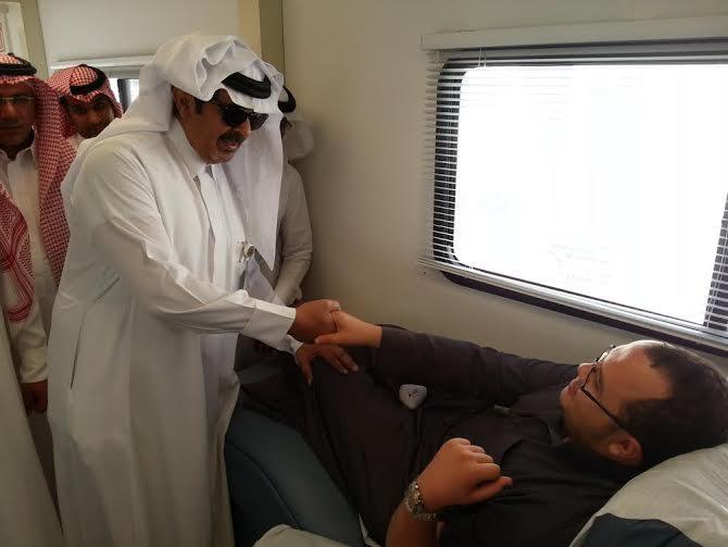 حملة التبرع بالدم بمستشفى الخميس 6