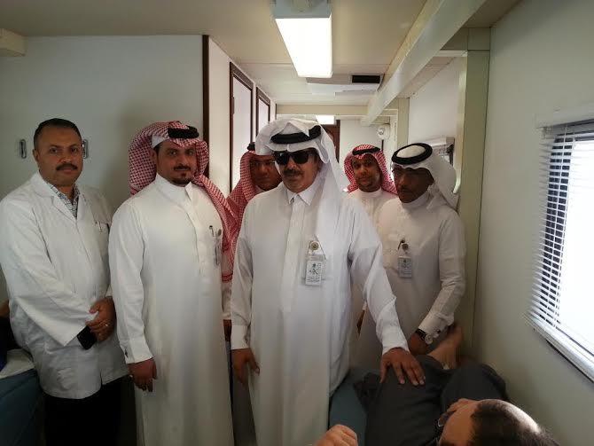 حملة التبرع بالدم بمستشفى الخميس 7
