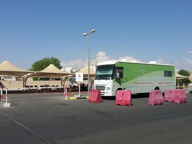 حملة التبرع بالدم بمستشفى الخميس