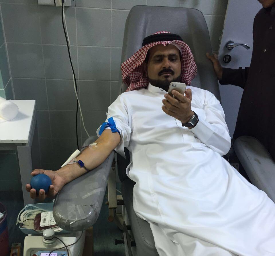 حملة تبرع بالدم بتهامة