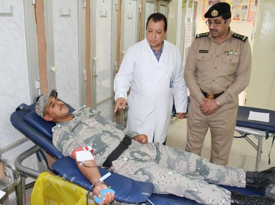 مركز صحي قوى الأمن ينظّم حملة تبرع بالدم