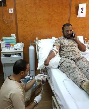 حملة للتبرع بالدم بمستشفى أحد المسارحة (1)
