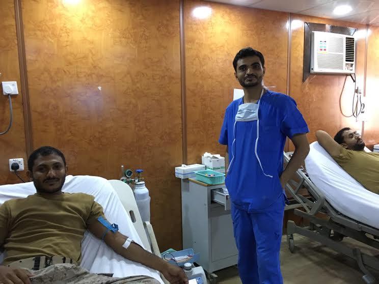 حملة للتبرع بالدم بمستشفى أحد المسارحة (4)