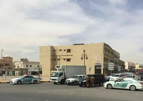 حملة مرورية لاحترام المشاة بشوارع الخفجي (5)
