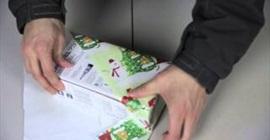 حيلة لتغليف الهدايا في ثوان