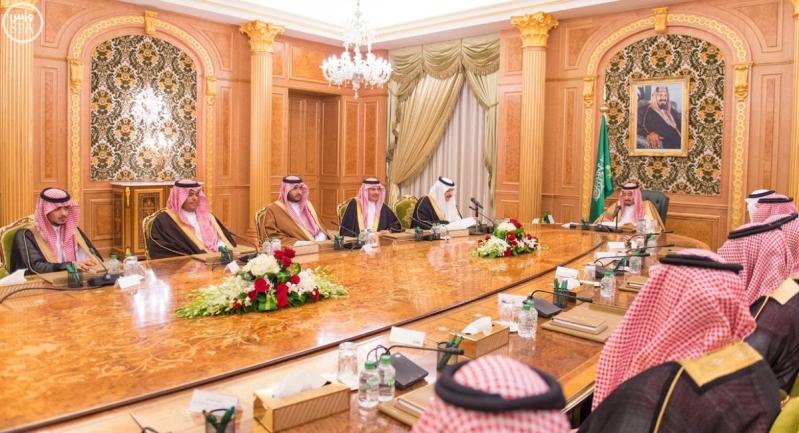 خادم الحرمين الشريفين يرأس الاجتماع الأول لمجلس أمناء مؤسسة الملك فهد الخيرية.