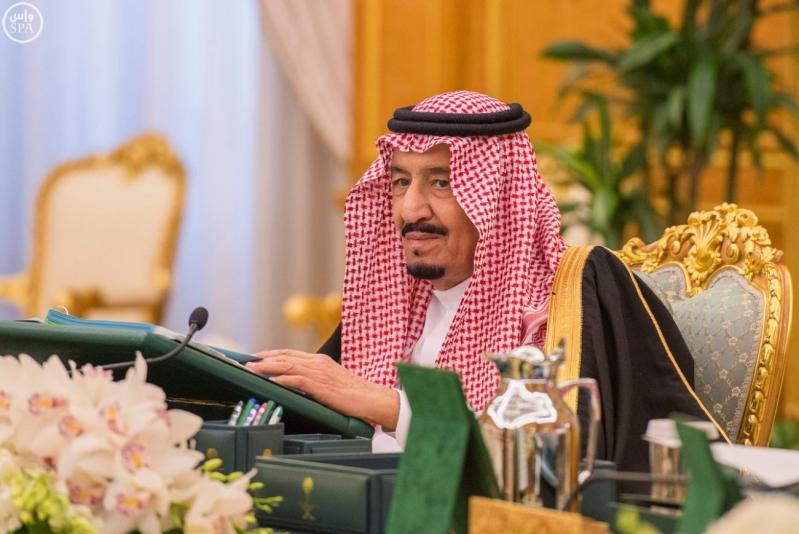 خادم الحرمين الشريفين يرأس جلسة الوزراء1