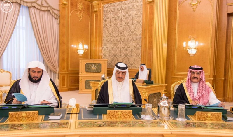 خادم الحرمين الشريفين يرأس جلسة الوزراء2