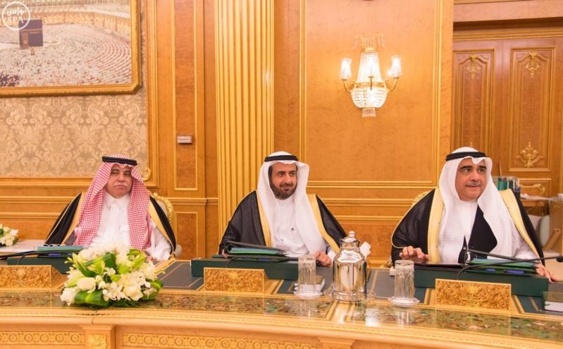خادم الحرمين الشريفين يرأس جلسة الوزراء3