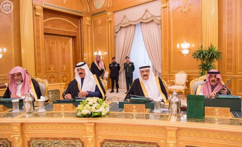 خادم الحرمين الشريفين يرأس جلسة الوزراء7
