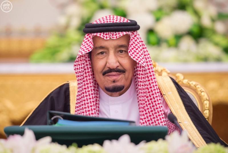 خادم الحرمين الشريفين يرأس جلسة الوزراء9