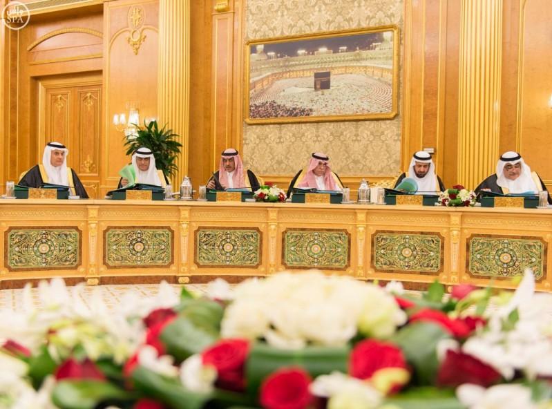 خادم الحرمين الشريفين يرأس جلسة مجلس الوزراء (واس) 28-12-1436 هـ 8