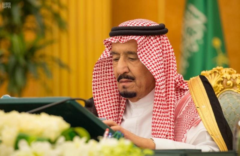 خادم الحرمين الشريفين يرأس جلسة مجلس الوزراء 2