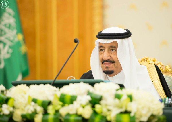 خادم الحرمين الشريفين يرأس جلسة مجلس الوزراء 88