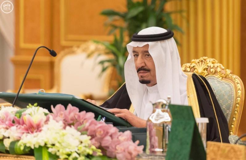خادم الحرمين الشريفين يرأس جلسة مجلس الوزراء1