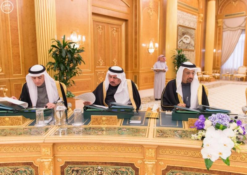 خادم الحرمين الشريفين يرأس جلسة مجلس الوزراء12