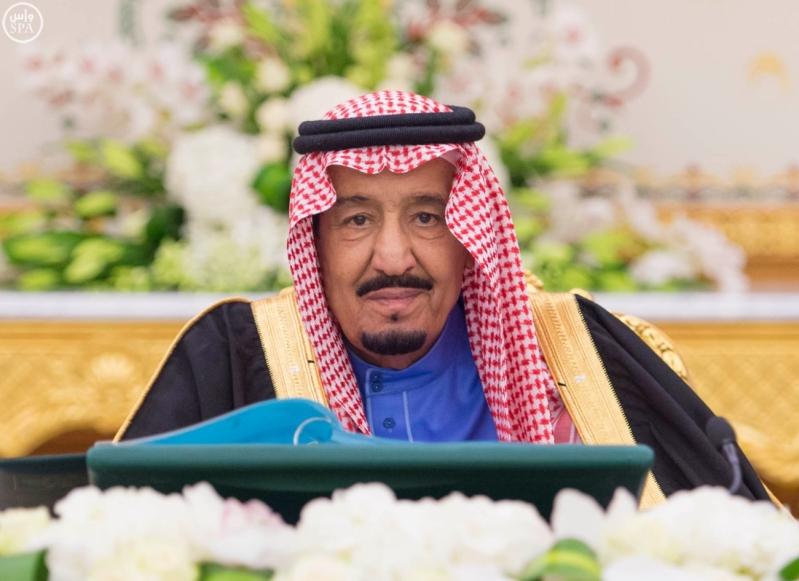 خادم الحرمين الشريفين يرأس جلسة مجلس الوزراء2