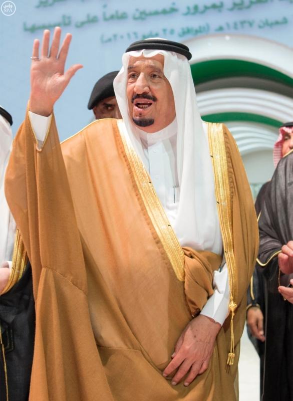 خادم الحرمين الشريفين يرعى احتفال جامعة الملك عبدالعزيز6