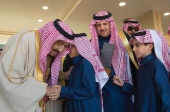 جانب من رعاية خادم الحرمين ختام مهرجان الملك عبدالعزيز للإبل - المواطن