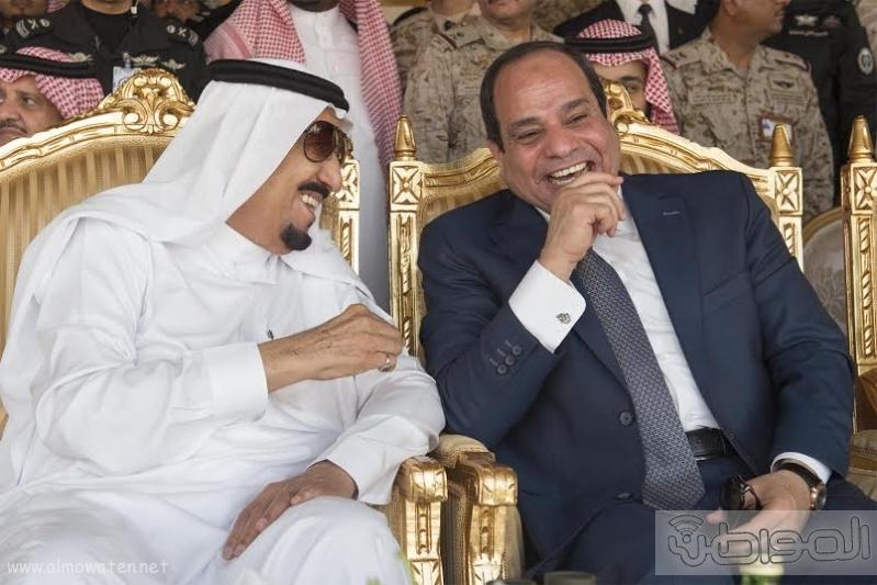 خادم الحرمين الشريفين يرعى المناوره الختامية لتمرين رعد الشمال28