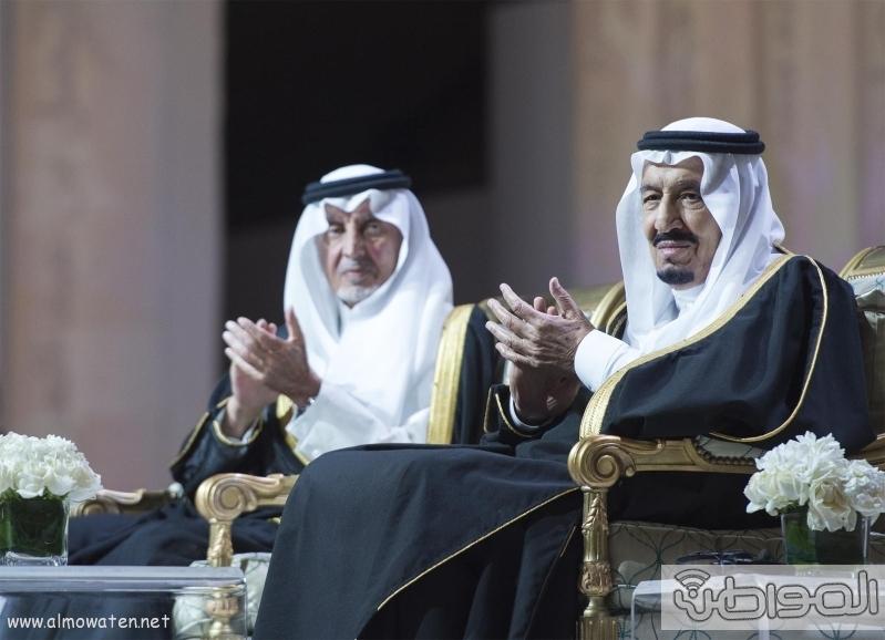خادم الحرمين الشريفين يرعى جائزة الملك فيصل  9