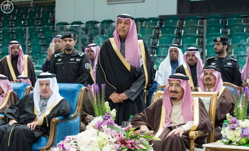 خادم الحرمين الشريفين يرعى حفل العرضة السعودية ضمن نشاطات المهرجان الوطني للتراث والثقافة في دورته الثلاثين 4