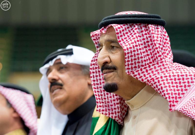 خادم الحرمين الشريفين يرعى حفل العرضة السعودية ضمن نشاطات المهرجان الوطني للتراث والثقافة في دورته الثلاثين 5