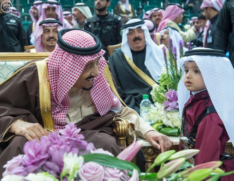 خادم الحرمين الشريفين يرعى حفل العرضة السعودية ضمن نشاطات المهرجان الوطني للتراث والثقافة في دورته الثلاثين2