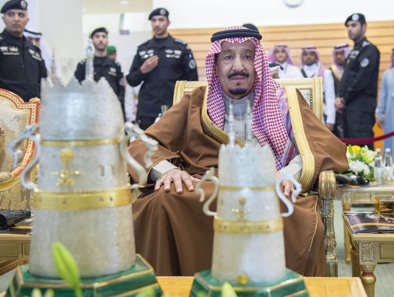 خادم الحرمين الشريفين يرعى كآس الملك عبدالعزيز 11