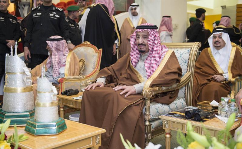 خادم الحرمين الشريفين يرعى كآس الملك عبدالعزيز 4