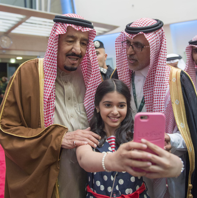 خادم الحرمين الشريفين يرعى كآس الملك عبدالعزيز 5