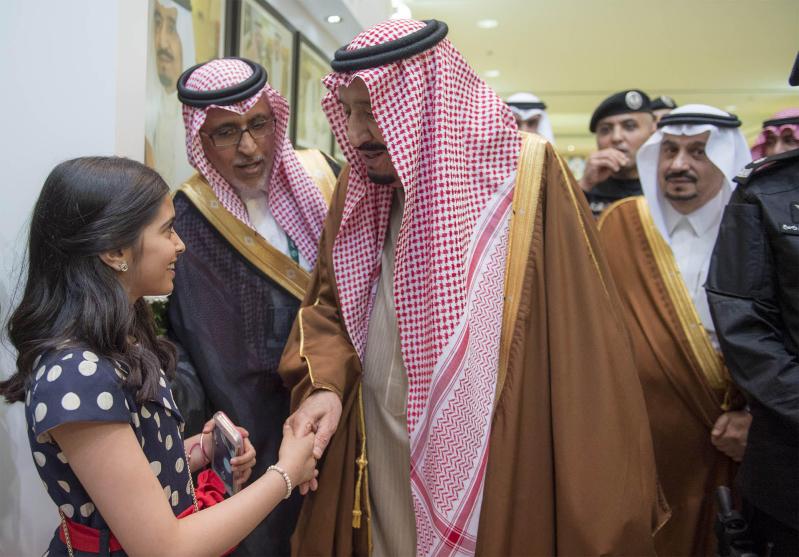خادم الحرمين الشريفين يرعى كآس الملك عبدالعزيز 7