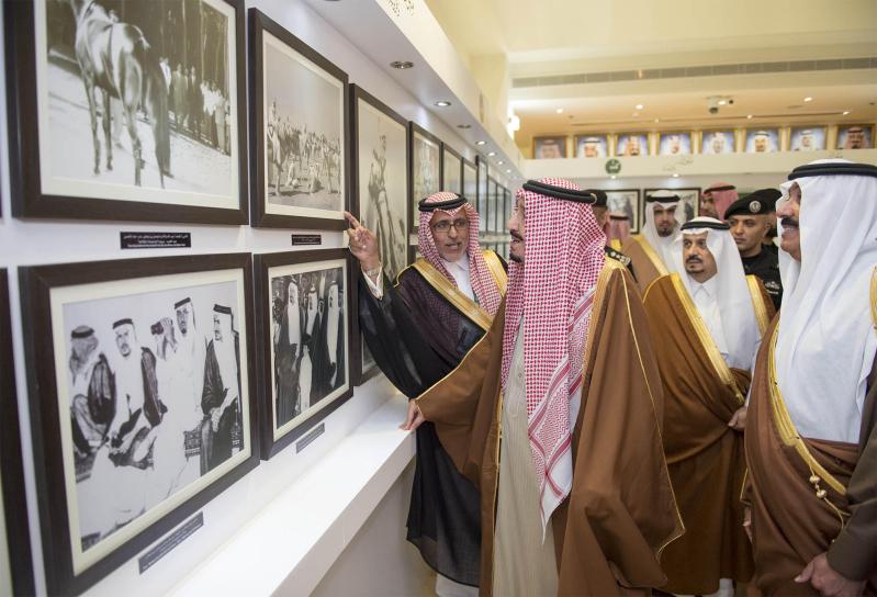 خادم الحرمين الشريفين يرعى كآس الملك عبدالعزيز 8