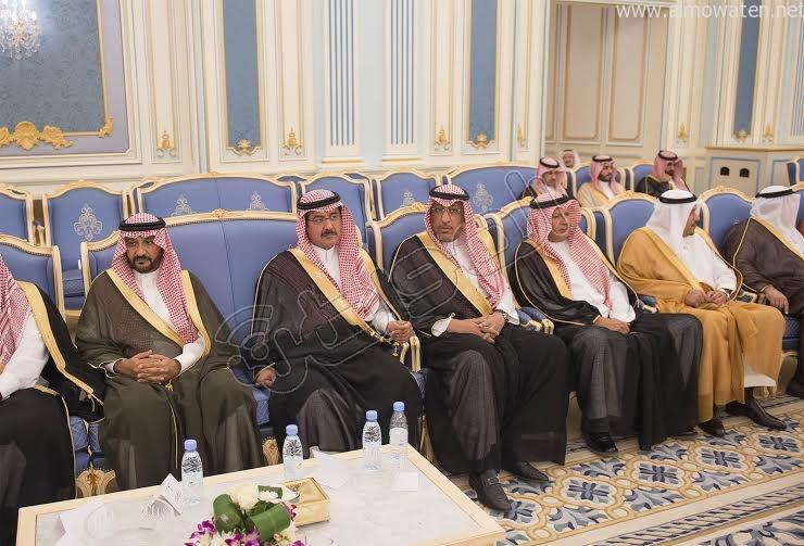 خادم الحرمين الشريفين يستقبل أصحاب السمو الأمراء وسماحة المفتي وجموعا من المواطنين 18
