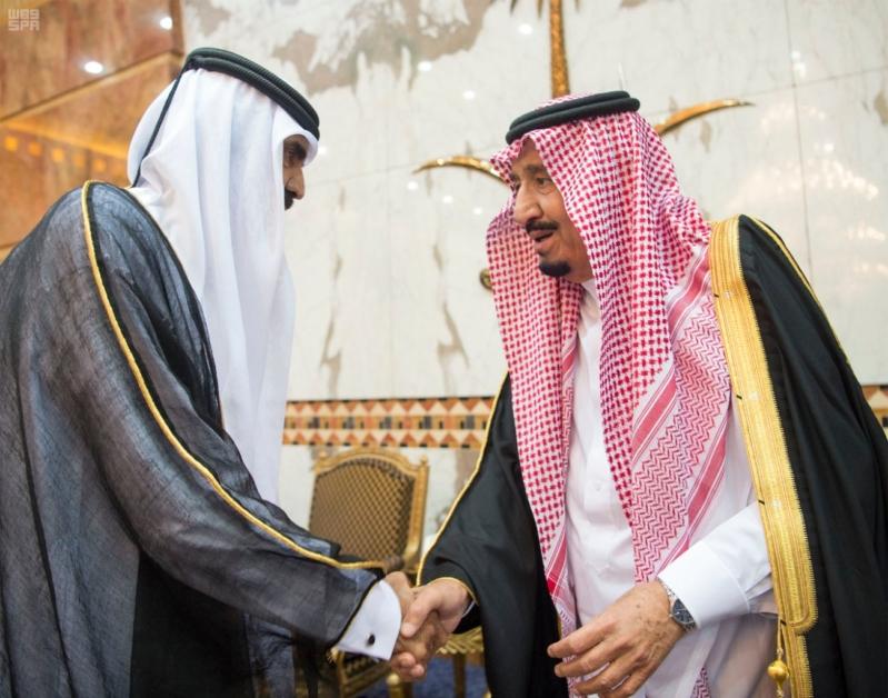 خادم الحرمين الشريفين يستقبل المعزين في وفاة صاحب السمو الملكي الأمير تركي 26
