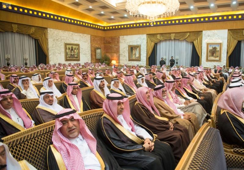 خادم الحرمين الشريفين يستقبل المعزين في وفاة صاحب السمو الملكي الأمير تركي 33