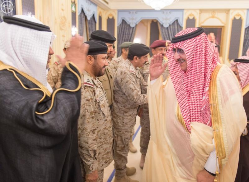 خادم الحرمين الشريفين يستقبل المهنئين بشهر رمضان المبارك (31195660) 